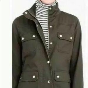 J CREW RELAXED BOYFRIEND FIELD Jacket